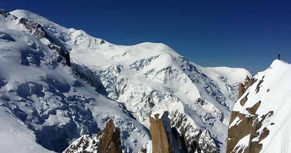 アルプス山脈 モンブラン