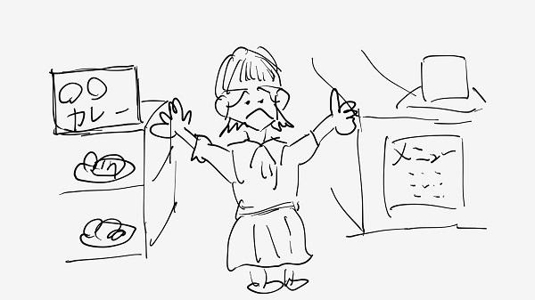 カレー屋さん(イメージ)