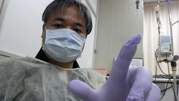 マグロちゃん in ICU