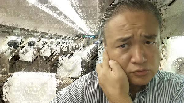 マグロちゃん in 貸切車内