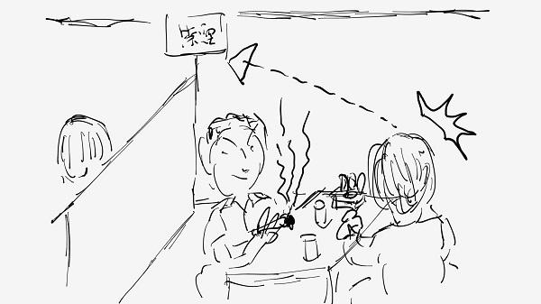 柳川ビビンバ膳のお店