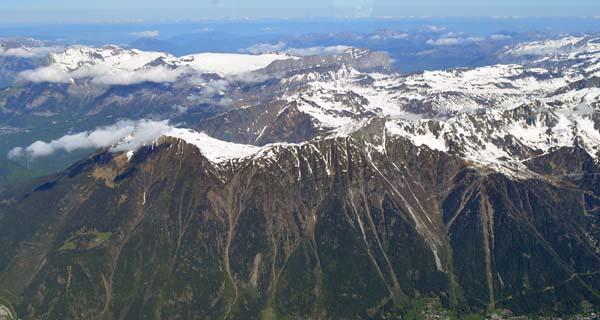 アルプス山脈の風景