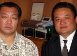 マグロちゃん&北の湖理事長(2007年4月12日)