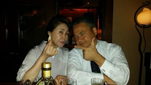 マグロちゃん & 藤堂和子ママ