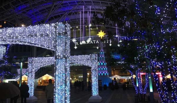 博多駅の夜景