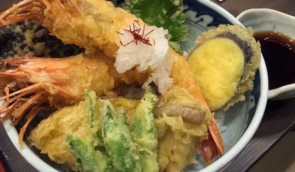 桃乃香 天丼