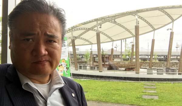 マグロちゃん in 新幹線船小屋駅