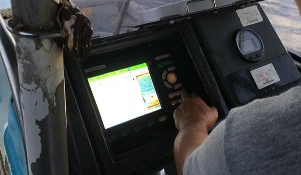 魚群探知機レーダー