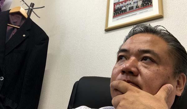 マグロちゃん in 福岡支社