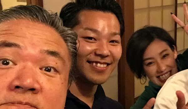 マグロちゃん & 新郎新婦