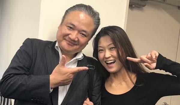 マグロちゃん & 近藤ちなみさん (2)