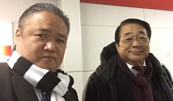 マグロちゃん&上村爺さん