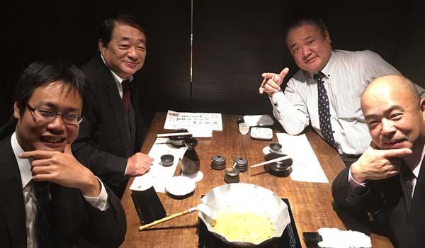 マグロちゃん&関西支店スタッフ
