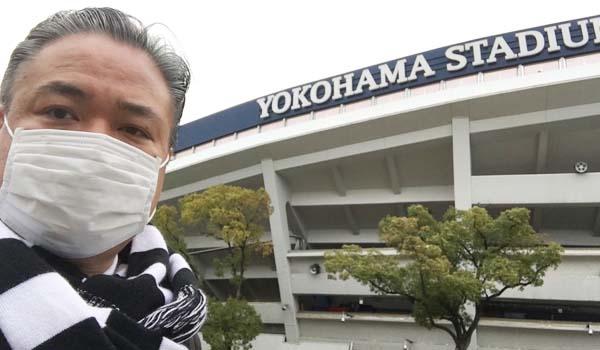 マグロちゃん in 横浜スタジアム