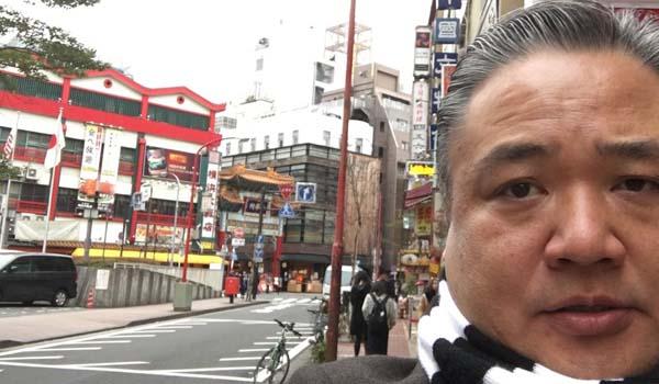マグロちゃん in 中華街