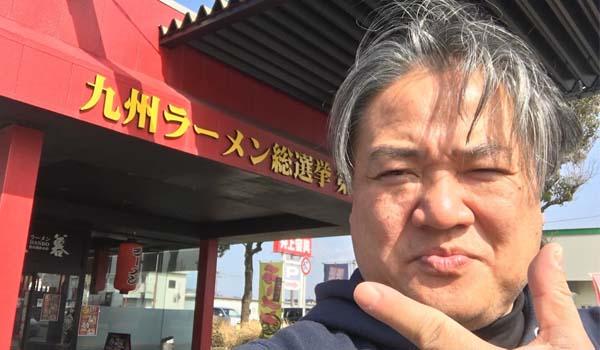マグロちゃん in ラーメン屋