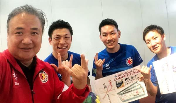 2018年ジョーキーボール世界大会の日本代表チームは「サンクタス」に決定しました!