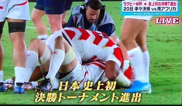 スポーツが生み出す価値に涙、涙、涙!