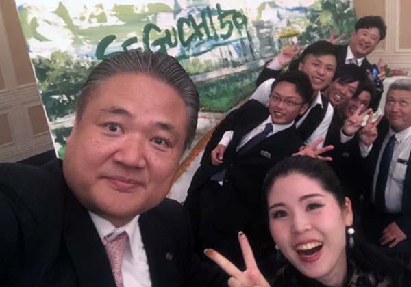 ファミリーカンパニーである瀬口舗道株式会社の法人設立50周年記念式典・祝賀会!