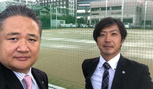 テニスアカデミーラフ福岡校という素晴らしいプロジェクトにコミットメントできました!