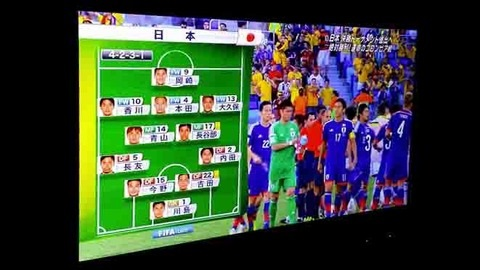 ワールドカップ 日本代表