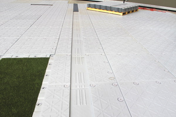 人工芝専用芝生保護材 テラカバー