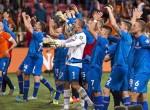 EURO2016本選に出場を決めたときのアイスランド代表