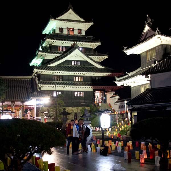 豊前の国 観月祭 中津 城あかり (11)