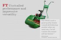 DENNIS芝刈り機「カセット式モアFTシリーズ」の紹介
