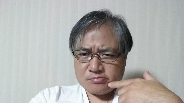 マグロちゃん無精髭