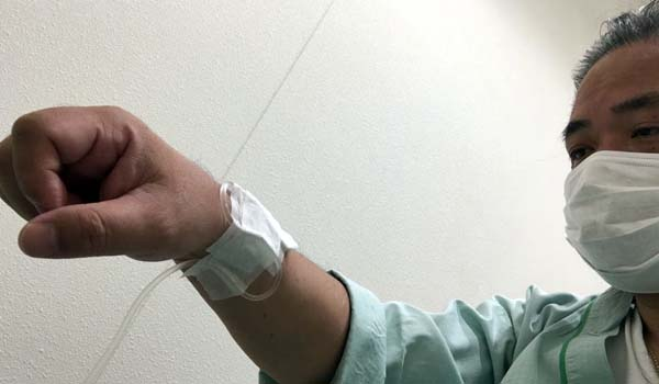 マグロちゃんの健康診断