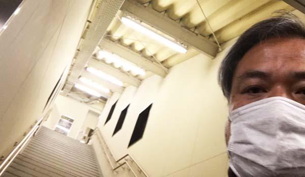 マグロちゃん階段昇り