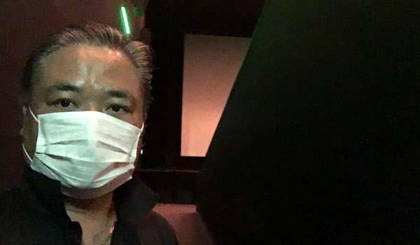 マグロちゃん 映画鑑賞