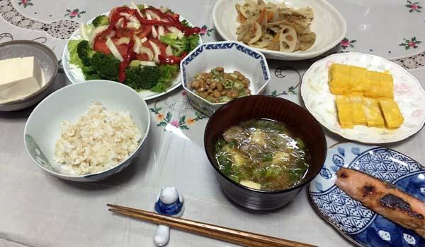 母親の手料理