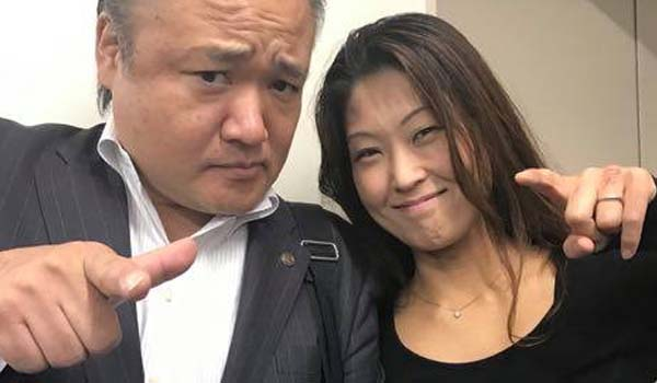 マグロちゃん & 近藤ちなみさん