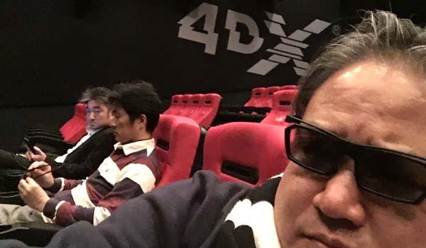 四人会 映画鑑賞