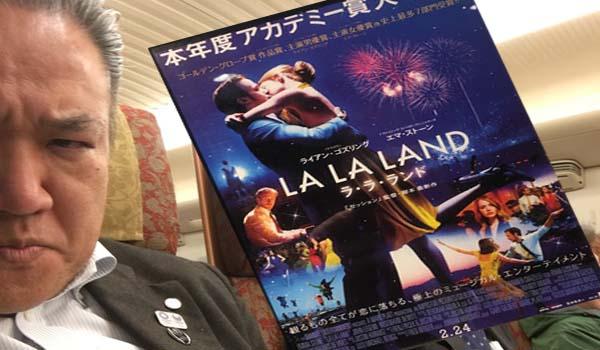 マグロちゃんの映画鑑賞レビュー、今回は「ラ・ラ・ランド」ですよー!