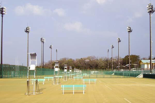 大分スポーツ公園テニスコート築造工事