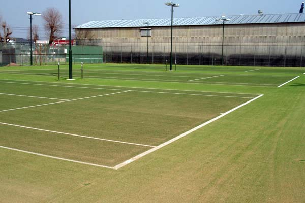 柳川市民テニスコート改修工事