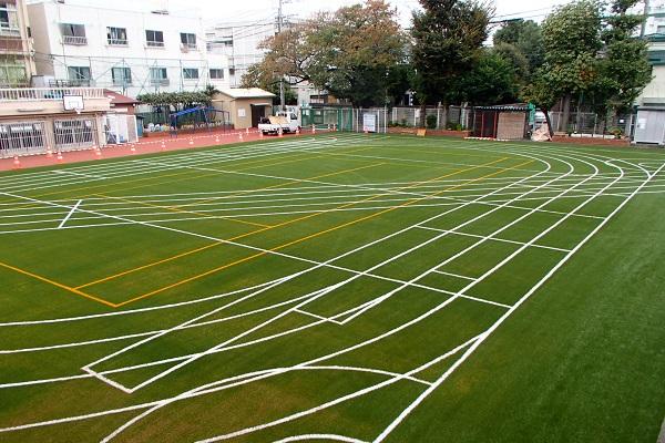 新宿区立市谷小学校校庭改修工事