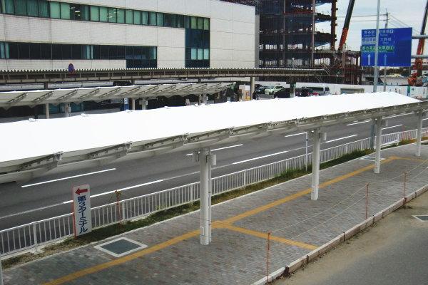 膜構造建築物 福岡空港道路駐車場 2