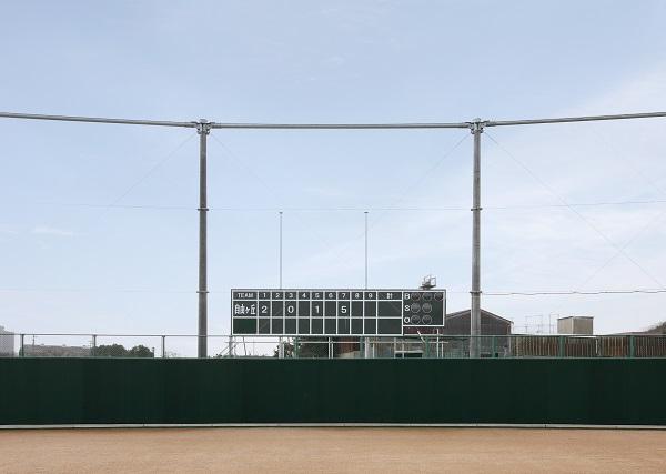 自由ヶ丘高等学校 野球場(スコアボード)