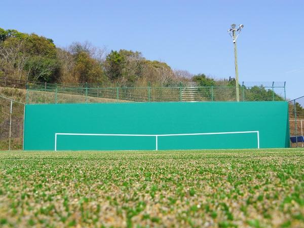 日向市サンパーク体育施設テニスコート03