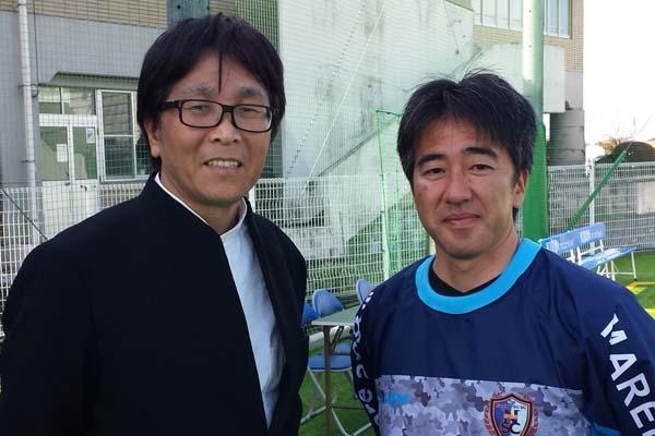高橋陽一先生と江頭オーナー