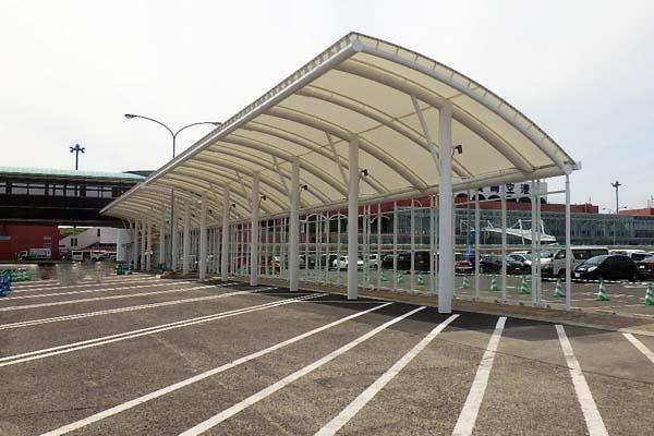 長崎空港道路駐車場ルーフ外1件工事