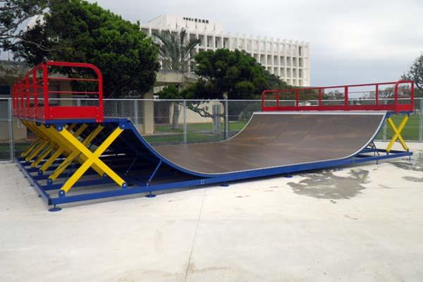 カママ嶺公園スケートパーク整備工事