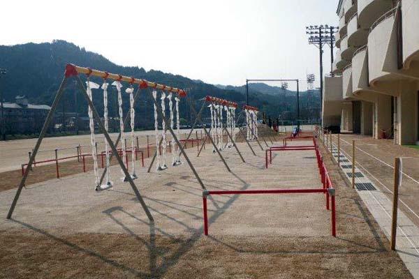 玄海みらい学園グラウンド整備 遊具