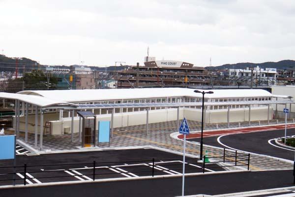 H28年JR海老津駅南側広場階段シェルター設置工事