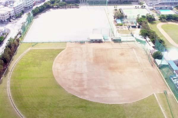 沖縄水産高校運動場整備工事