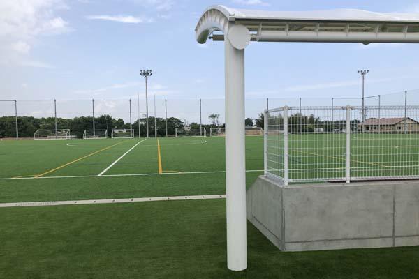 永添運動公園グラウンド人工芝整備工事